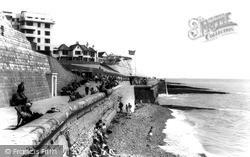 Rottingdean, The Undercliff Walk c.1965