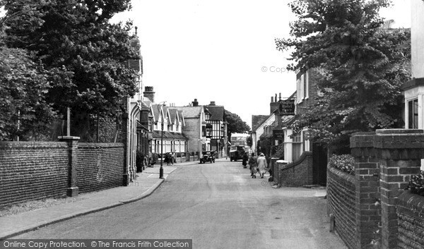 Photo of Rottingdean, The Village c.1950