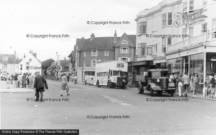 Photo of Rottingdean, Town Centre c.1950