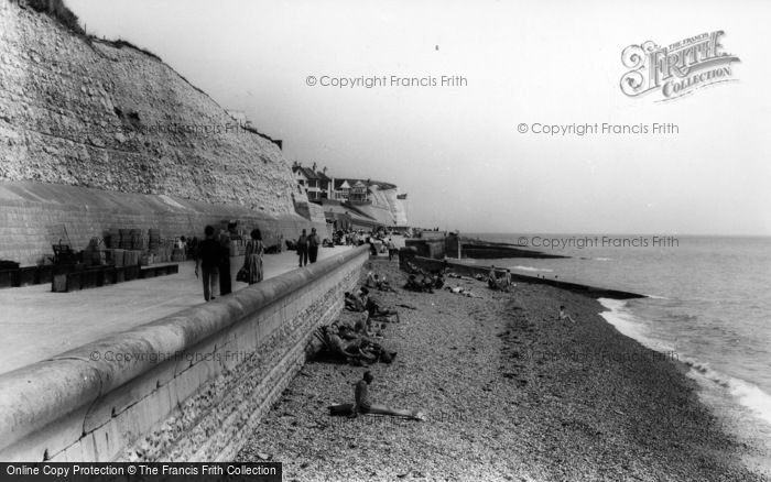 Photo of Rottingdean, Undercliff Walk c.1965