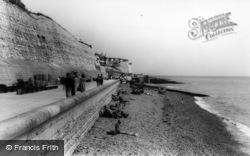 Rottingdean, Undercliff Walk c.1965