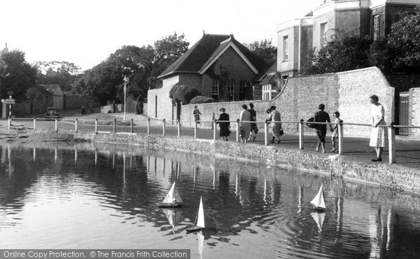 Photo of Rottingdean, Village Pond c.1950