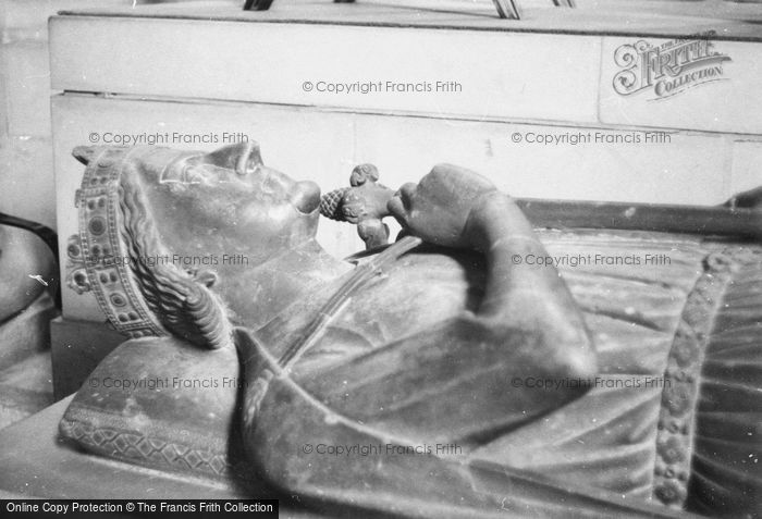 Photo of Rouen, Cathedral, Effigy On The Tomb Of Richard The Lionheart 1964