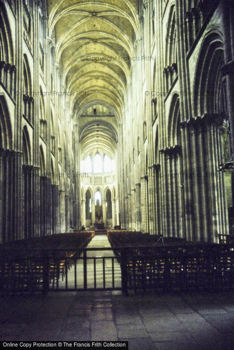 Photo of Rouen, Cathedral, Nave 1983