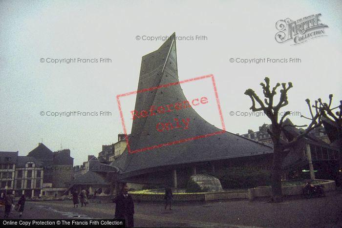 Photo of Rouen, Church Of Joan Of Arc 1983