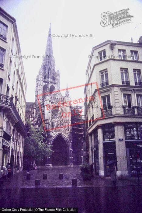 Photo of Rouen, Church Of St Maclou 1983