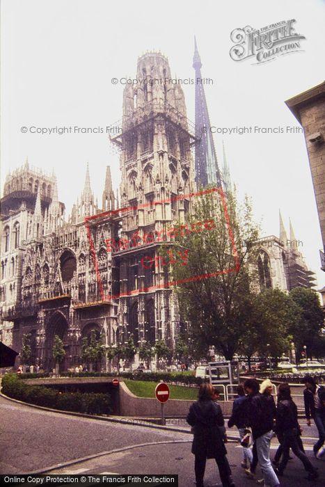 Photo of Rouen, Notre Dame 1983