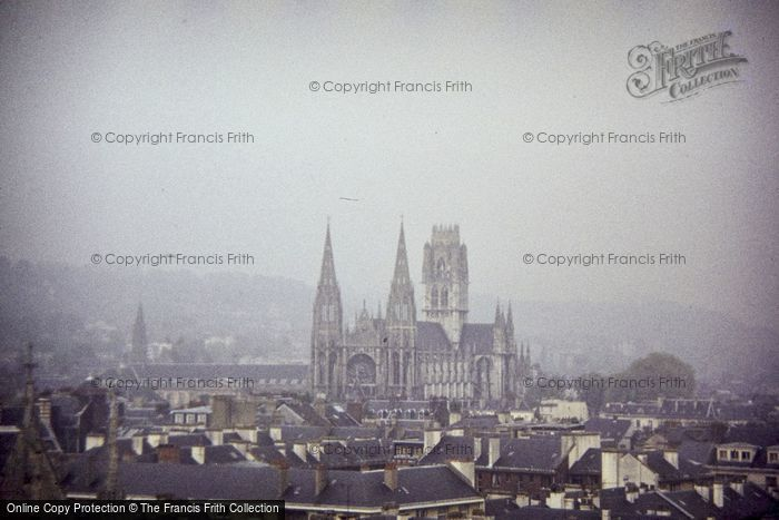 Photo of Rouen, St Ouen From Clock Tower 1984