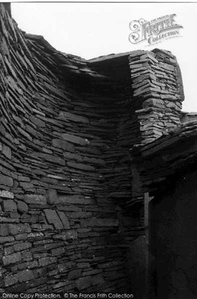 Photo of Rousay, Mid Howe Broch 1954