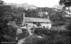 Landslip Cottage 1903, Rousdon