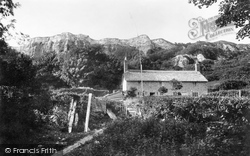 The Landslip And Whitlands Cottages 1900, Rousdon