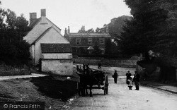 Horse And Cart In The Village 1899, Rowde