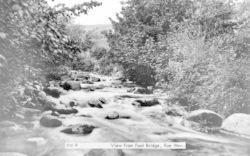 Rowen, View From Footbridge c.1955