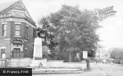 Memorial Corner c.1955, Rowlands Gill