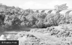 The Viaduct c.1955, Rowlands Gill