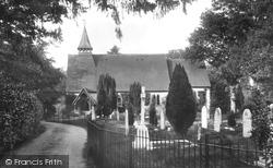 St James Church 1918, Rowledge