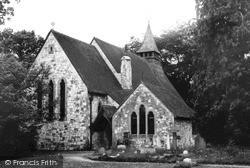 St James Church c.1955, Rowledge