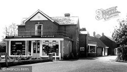 The Square And Post Office c.1960, Rowledge