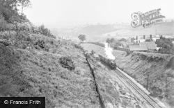 G.W.R Train Approaching Haden Hill Tunnel c.1900, Rowley Regis