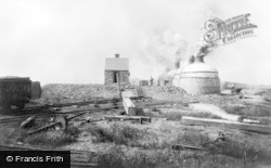 Haden Hill Colliery, Old Hill, Pit No 1, Coke Ovens c.1900, Rowley Regis