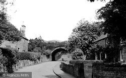 Church Lane c.1955, Rowsley