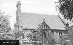 St Katherine's Church c.1955, Rowsley