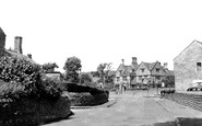 Rowsley, the Peacock Hotel c1955