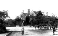 Rowsley, the Peacock Inn 1886