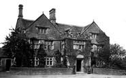 Rowsley, the Peacock Inn c1864