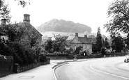 Rowsley, the Village c1955