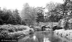Wye Bridge c.1955, Rowsley