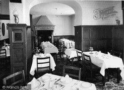 Rowton, Longdale Dining Room, Rowton Hall Hotel c.1955