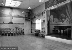 Rowton, The Ballroom, Rowton Hall Hotel c.1955