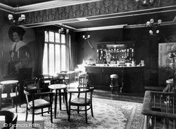 Rowton, The Cavalier Bar, Rowton Hall Hotel c.1955