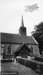 St Michael's Church c.1965, Roxwell