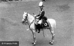 A Mounted Guard c.1900, Royalty