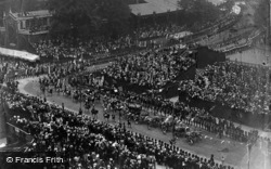 Coronation Of King Edward, Procession In Parliament Square 1902, Royalty