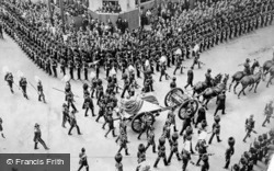 Funeral Procession Of King Edward Vii 1910, Royalty