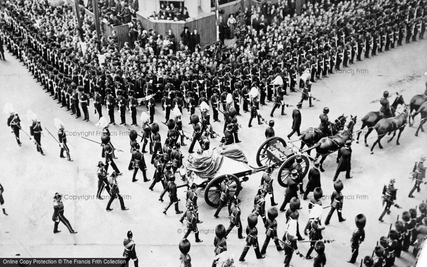 Royalty, Funeral Procession of King Edward VII 1910