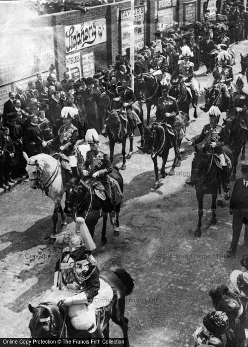 Photo of Royalty, Funeral Procession Of King Edward Vii 1910