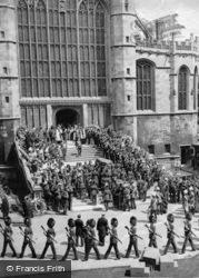 Funeral Procession Of King Edward Vii At Windsor Castle 1910, Royalty