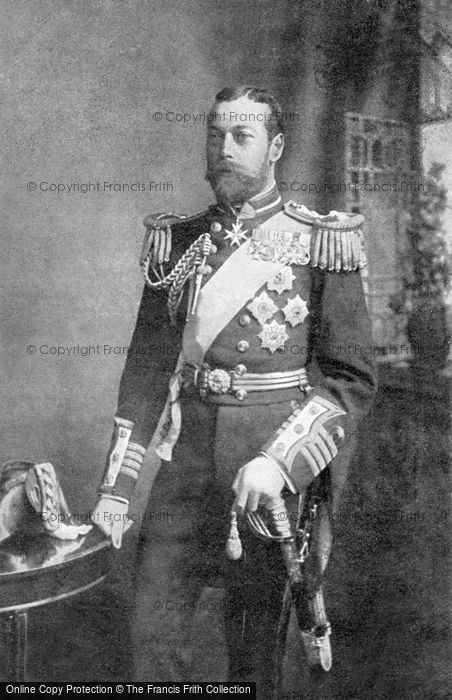 Photo of Royalty, H.R.H The Prince Of Wales c.1905