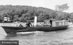 Hrh Prince Philip Aboard S.L.Branksome c.1955, Royalty