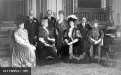 King Edward Vii And European Royalty 1907, Royalty