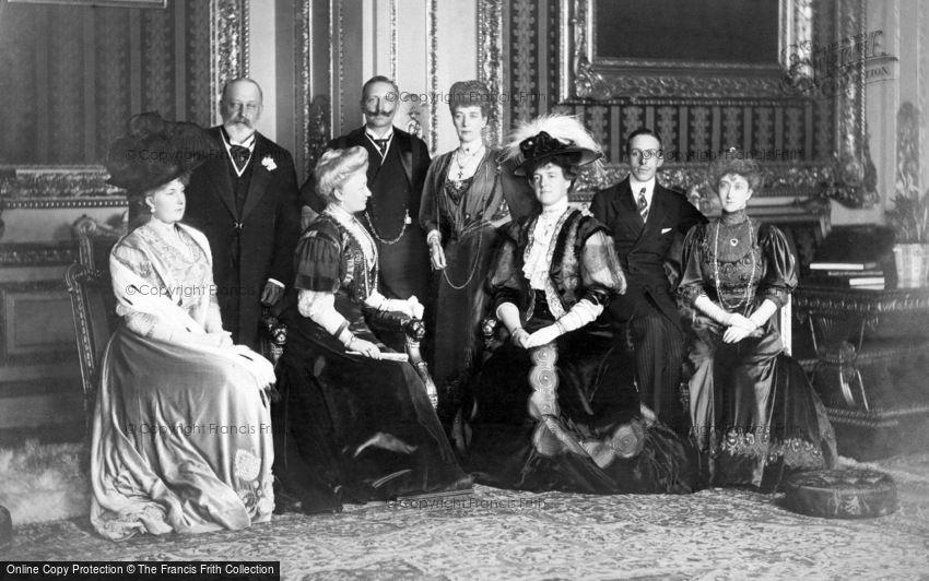 Royalty, King Edward VII and European Royalty 1907