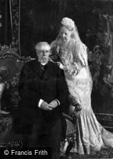 Royalty, King Oscar and Queen Sophie of Sweden 1907