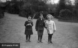 Prince George Of Wales, Olaf And Prince John 1908, Royalty