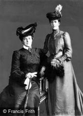Royalty, Queen Alexandrea of Portugal 1904
