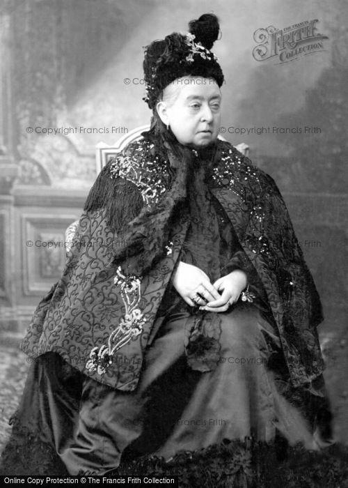 Photo of Royalty, Queen Victoria c.1900