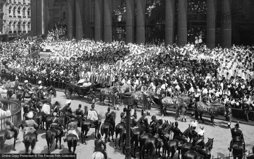 Royalty, Queen Victoria's Diamond Jubilee, Jubilee Day, St Paul's 1897